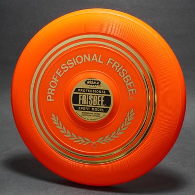 Classic Wham-O Pro Model Mold 15 Orange w/ Label
