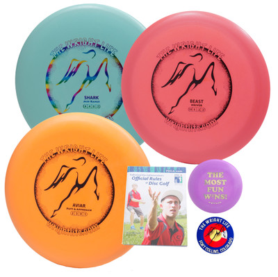 Wright Life Innova 3-Disc Starter Set - w/ Rules, Sticker & Mini
