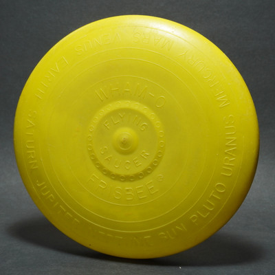 Wham-O Flying Saucer Flying Disc - Yellow Mold ? No Patent Number