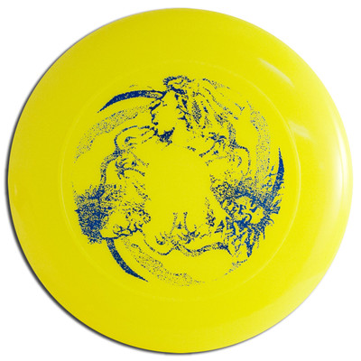 DISCRAFT SKY-STYLER FREESTYLE DISC - RASTA DESIGN , ORANGE