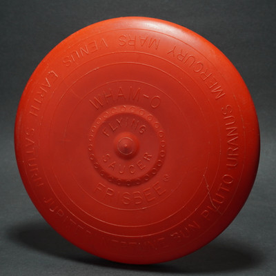 Wham-O Flying Saucer Flying Disc - Red Mold ? w/ Patent Number