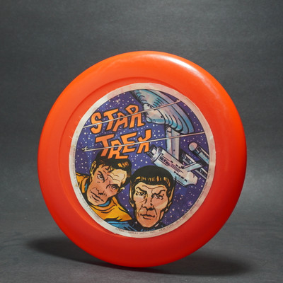 Star Trek Flyer - Paper Label