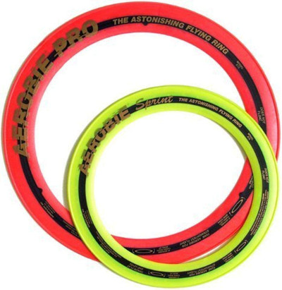 "Aerobie Flying Ring 2 Pack - Sprint 10"" & Pro 13"""