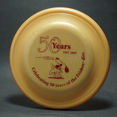 Wham-O 50 Year Anniversary Gold Fastback w/ insert