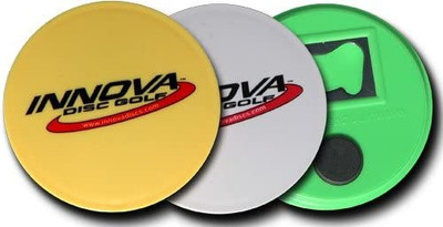 Innova Bottle Opener Magnet Mini Disc - 3 Pack