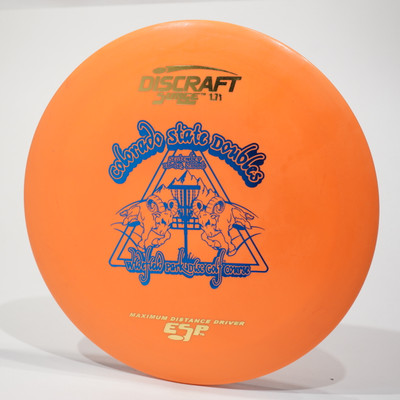 Discraft Surge (ESP) Used & OOP Colorado State Doubles '06 173g