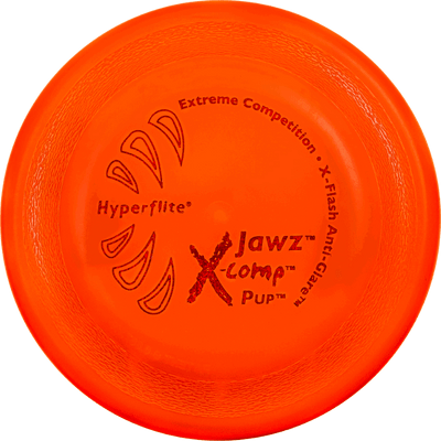 "Hyperflite Pup X-Comp Jawz - Rigid 7"" Puppy Frisbee for Competition"