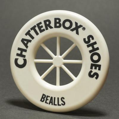Wagon Wheel Mini ring  ChatterBox - Unknown Manufacturer - White