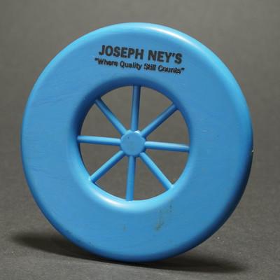 Wagon Wheel Mini ring Joseph Ney's - Unknown Manufacturer - Blue
