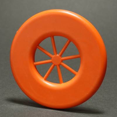 Wagon Wheel Mini ring Blank - Unknown Manufacturer - Orange