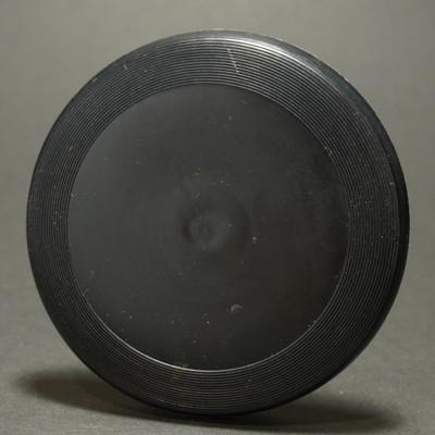 Licensed Wham-O Mini Frisbee  - Black Blank