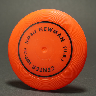 Wham-O  Mini Disc 3rd Period Premiums - Newman