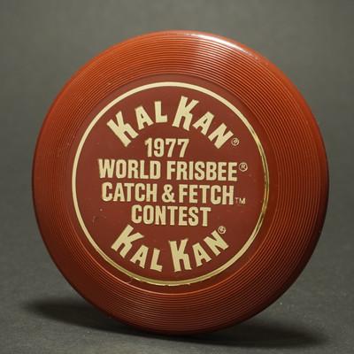 Wham-O  Mini Disc 4th Period Premiums - KalKan 1977 World Catch & Fetch