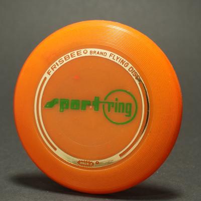 Wham-O  Mini Disc 4th Period Premiums - SportRing Orange