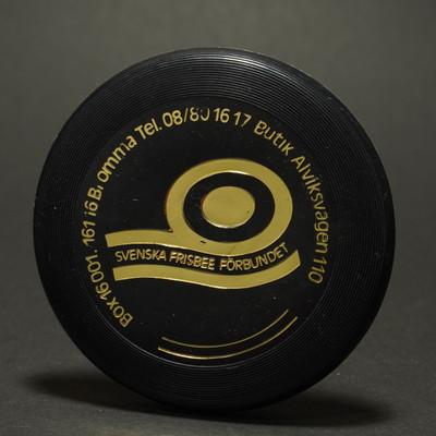 Licensed Wham-O  Mini Disc Premiums Denmark - Svenska Frisbee Black