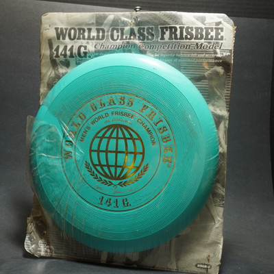 Wham-O World Class 141G 50 Mold Scribble Signature  - Torquoise