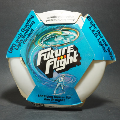 Future Flight Light Up Flying Saucer  - w/ Package - 1