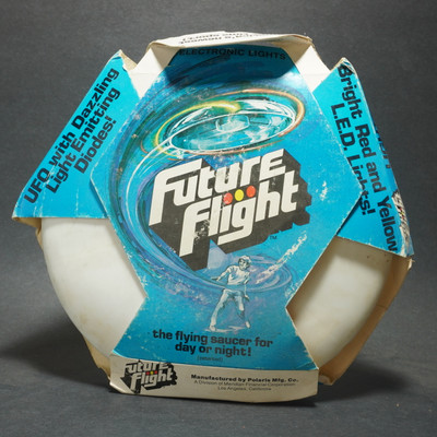 Future Flight Light Up Flying Saucer  - w/ Package - 2