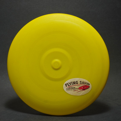 Flying Saucer - Yellow