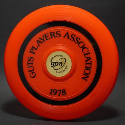 Wham-O Pro Model Guts Players Association-1978 15 Mold