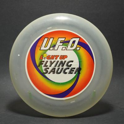 U.F.O. Light Up Flying Saucer - unkown manufacturer
