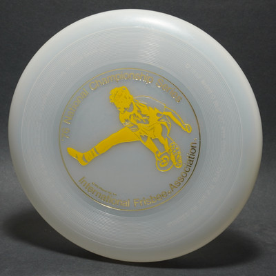 Wham-O 40 Mold North American Series 1976 - Jimmy Scala (yellow)