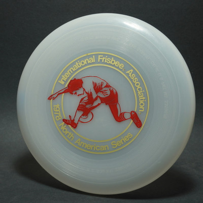 Wham-O 40 Mold North American Series 1978 - Dave Marini's Image (red)