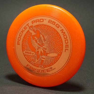 Original Wham-O Pocket Pro Mini 25g Model - Orange