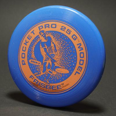Original Wham-O Pocket Pro Mini 25g Model - Blue