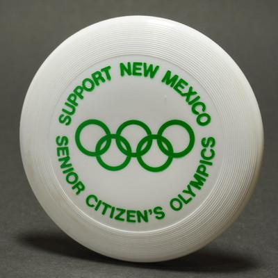 Original Wham-O Mini New Mexico Senior Olympics - White w/ Green