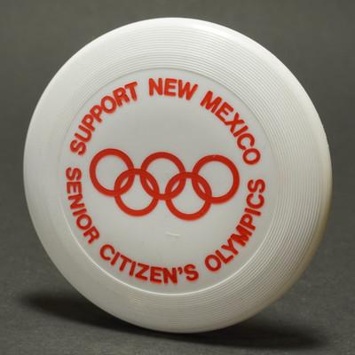 Original Wham-O Mini New Mexico Senior Olympics - White w/ Red