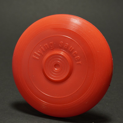 Flying Saucer Mini - Red