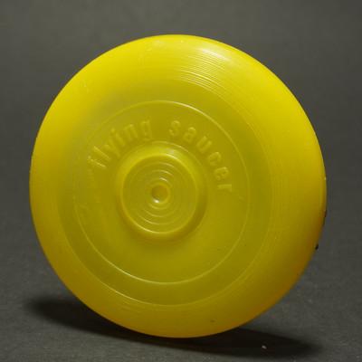 Flying Saucer Mini - Yellow