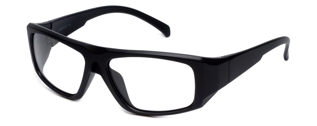 Global Vision Eyewear Full Lens RX Safety Series IROP11 in Black