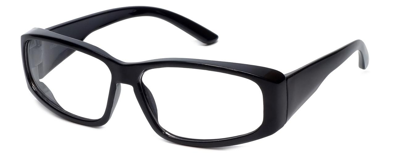 Global Vision Eyewear Full Lens RX Safety Series RX-G in Black