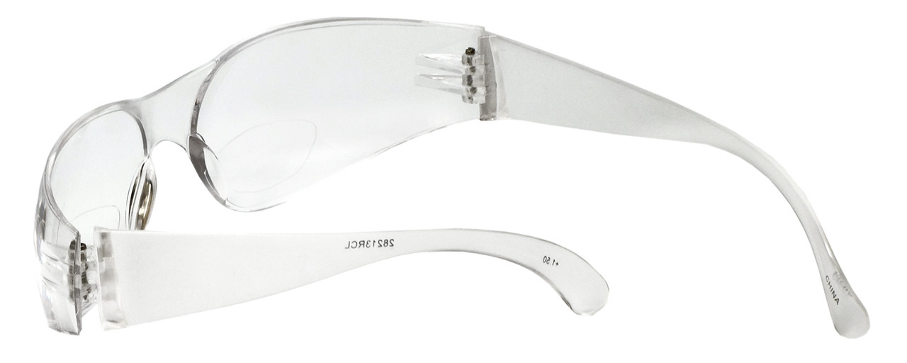 Calabria 28213 Clear Bi-Focal Safety Glasses