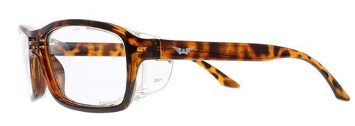 Global Vision Eyewear RX Safety Series RX-I in Demi