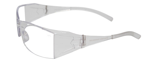 Calabria STS-018CL Clear Safety Glasses Z87.1 Safety Rated