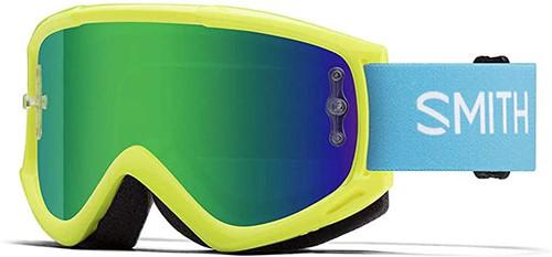 Smith Optics Fuel V1 Adult Off-Road Goggles - Acid Green Mirror