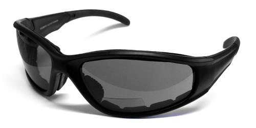 Calabria 23BF Bi-Focal Safety Glasses UV Protection in Smoke