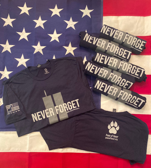 9/11 20th Anniversary- Never Forget T-shirt