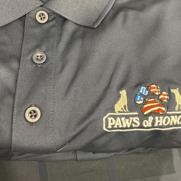 Blue Paws Polo shirt