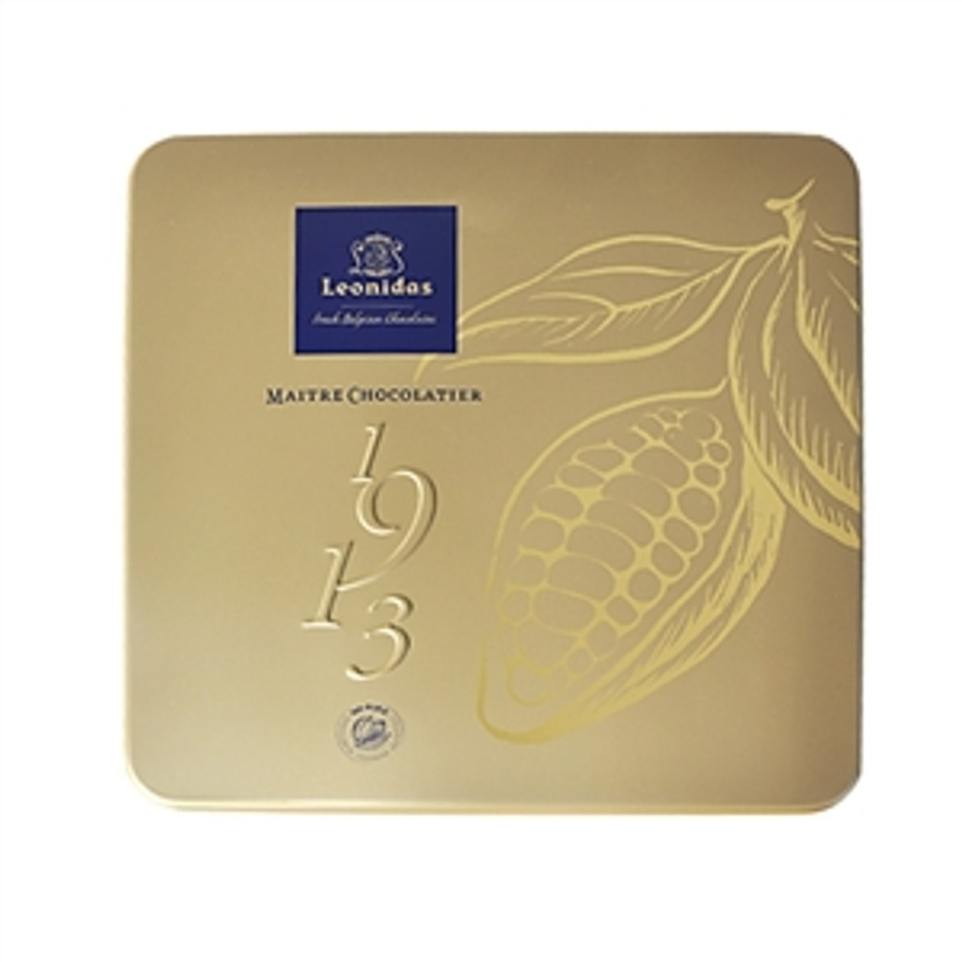 Gold Tin Box of 16 or 25 Chocolates
