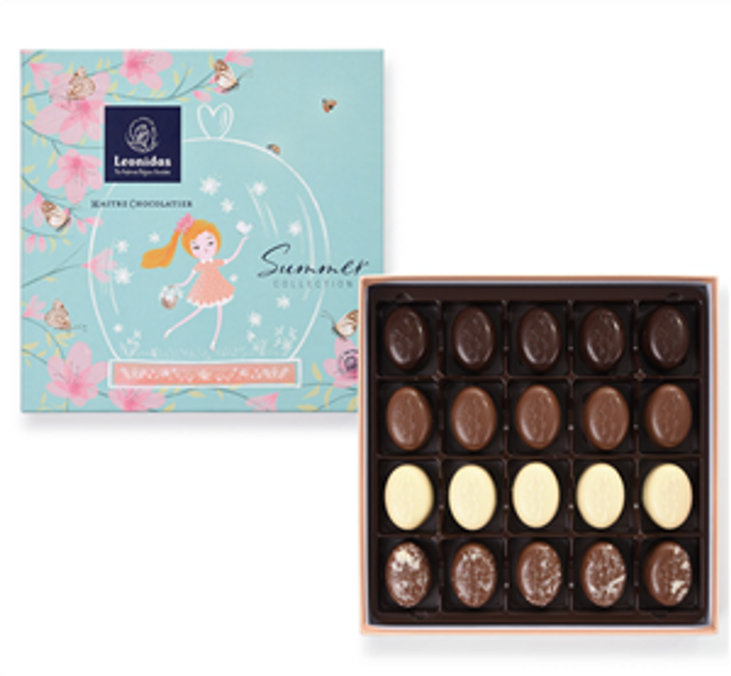 Irresistible Summer Collection of 20 chocolates