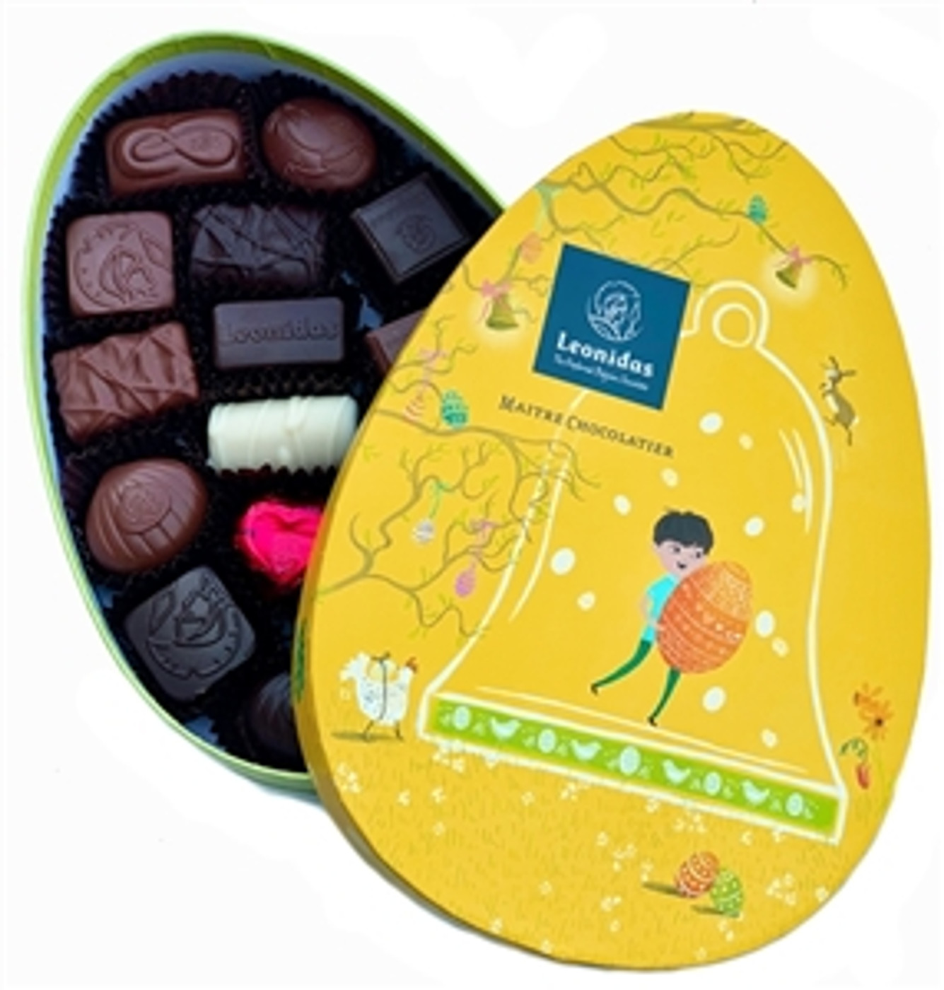 Easter Box with Assorted Leonidas Chocolates