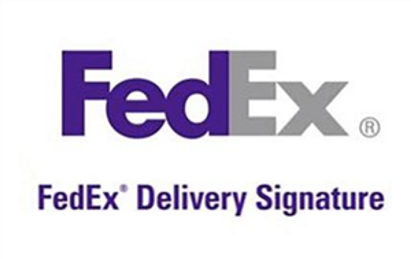 Delivery Signature Required -upgrade