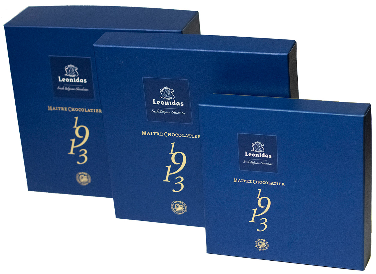 1913 Blue Heritage Assortment of 16, 20 or 32 chocolates