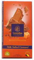 100 gram Milk Belgian Chocolate with Salted Caramel
