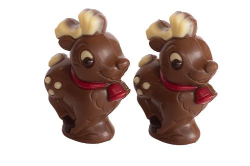 Twin Milk Chocolate Deers