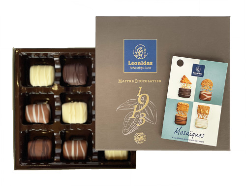 1913 Mosaiques Limited Assortment of 16 or 9 chocolates